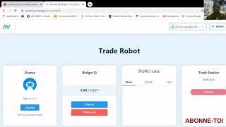 ANTARES:Comment acheter la Licence et activer le robot Profit Team