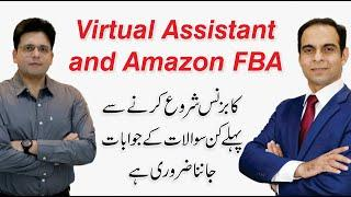 Virtual Assistant & Amazon FBA - E-Commerce by Enablers -Q/A with Qasim Ali Shah & Saqib Azhar